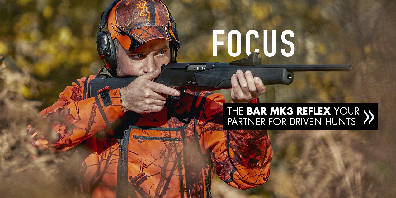 Browning rifle BAR MK3 Reflex