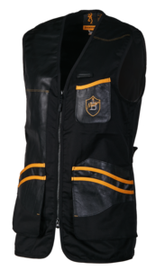 SHOOTING VEST, MASTER 2, BLACK