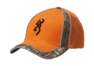 CAP, POLSON MESHBACK, ORANGE
