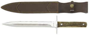 KNIFE, DAGGER STAG FIXED 23cm