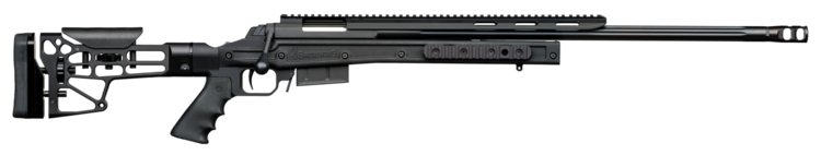 RIFLES BOLT ACTION X-BOLT SF MDT HS3 CHASSIS BLACK